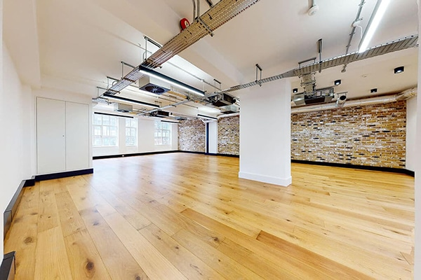 Open plan office space to let, Fitzrovia, London