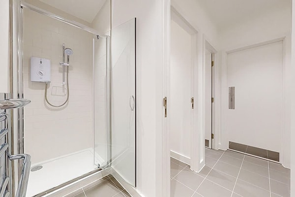 2nd Floor Evelyn House new shower facilities